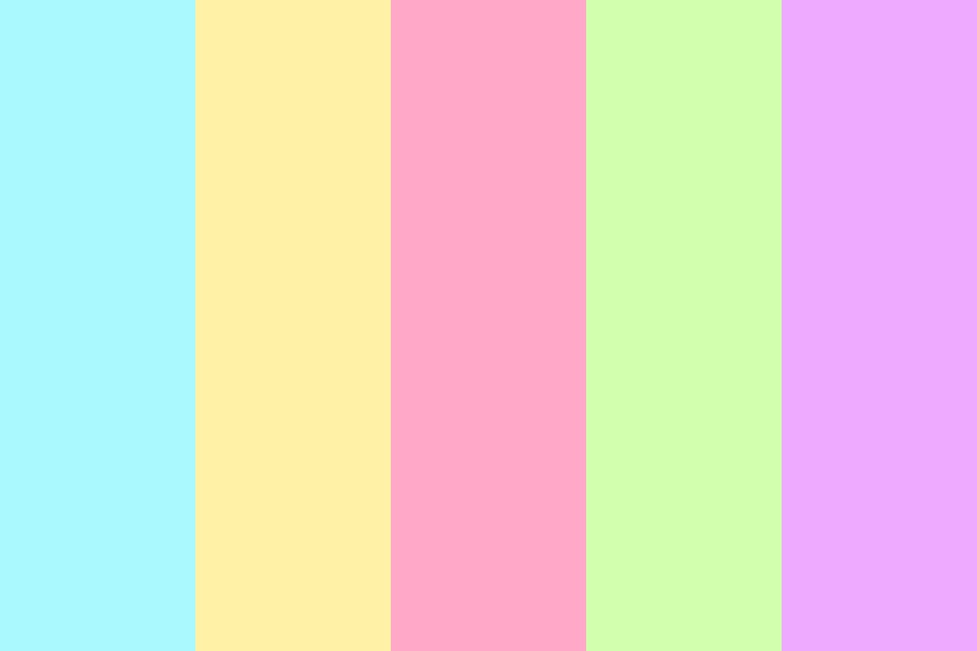 Pastel Holiday Color Palette