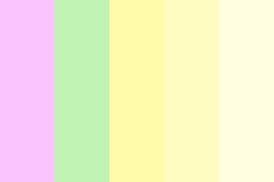 Pastel Icecream Color Palette