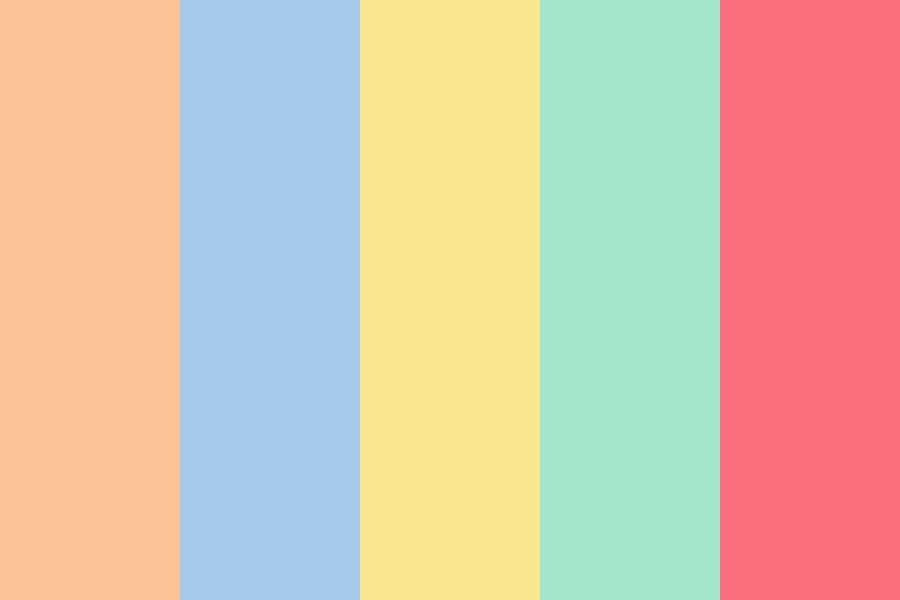 Pastel Icon Color Palette