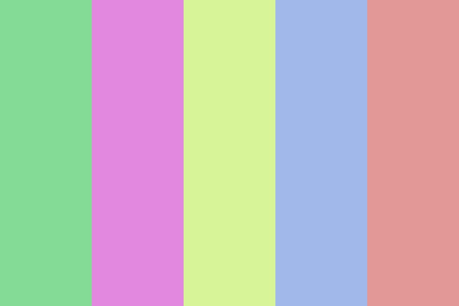 Pastel Lyf Color Palette