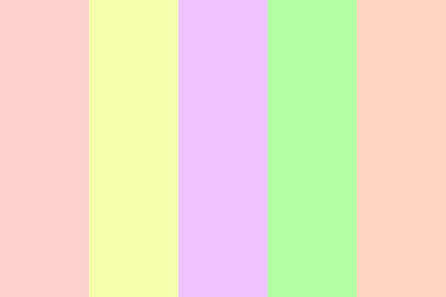 Pastel Marshmellow Nb Color Palette