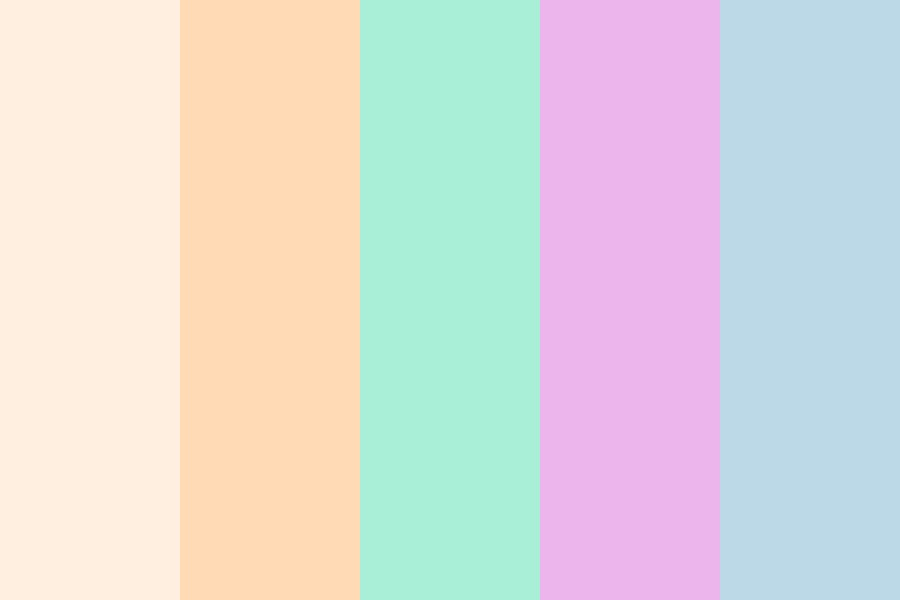 Pastel Matt Color Palette