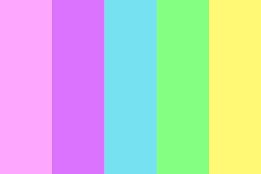 Pastel Mermaid Color Palette