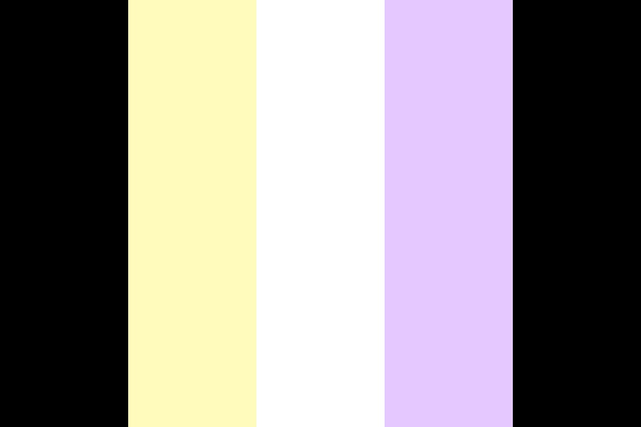 Pastel Non binary Color Palette