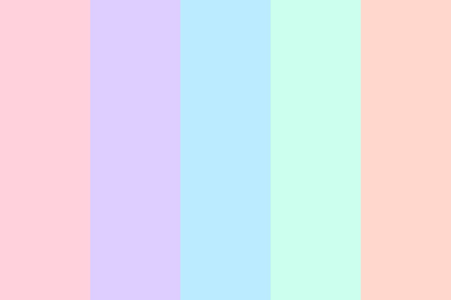 Pastel Pallete Color Palette