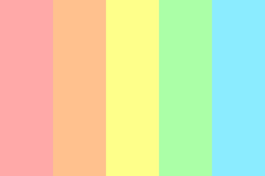 Pastel Party Yee Color Palette
