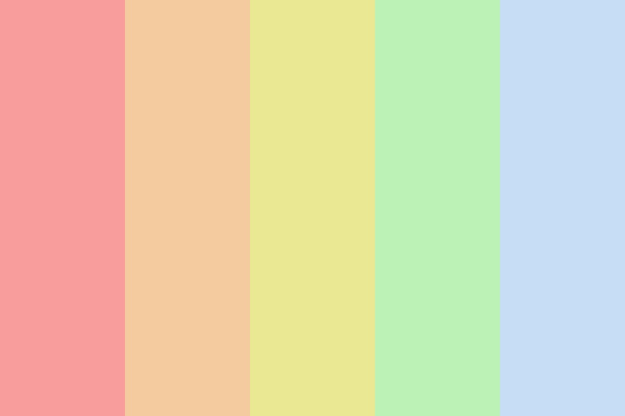 Pastel Pride Pallette Color Palette