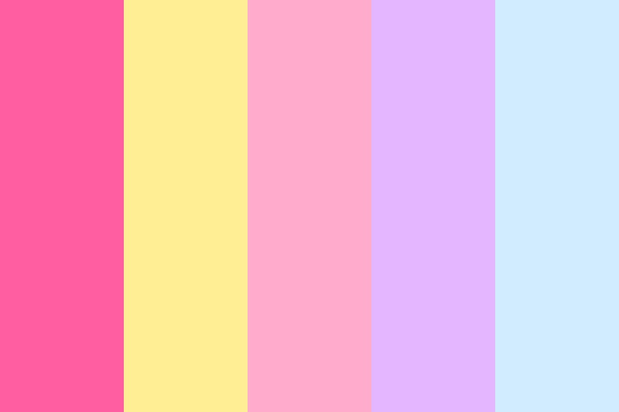 Pastel Princess Dream Color Palette