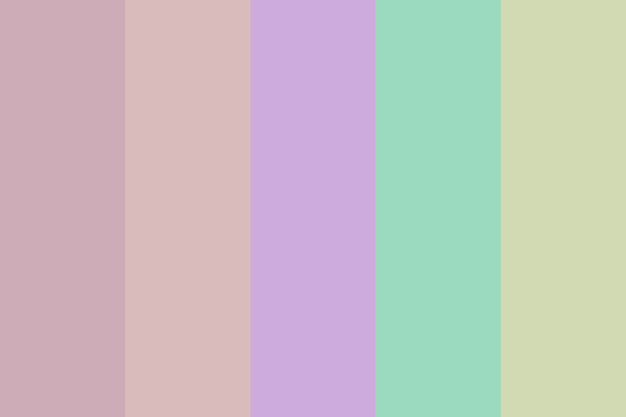 Pastel Quartz Color Palette