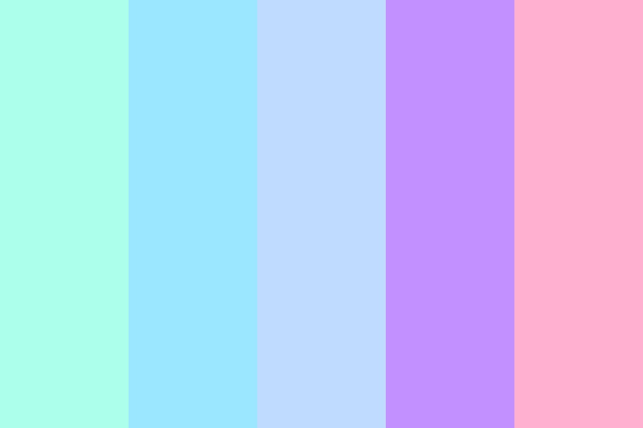Pastel Skys Color Palette