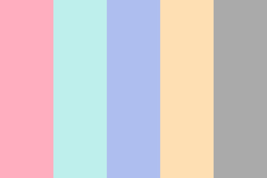Pastel Springs Color Palette