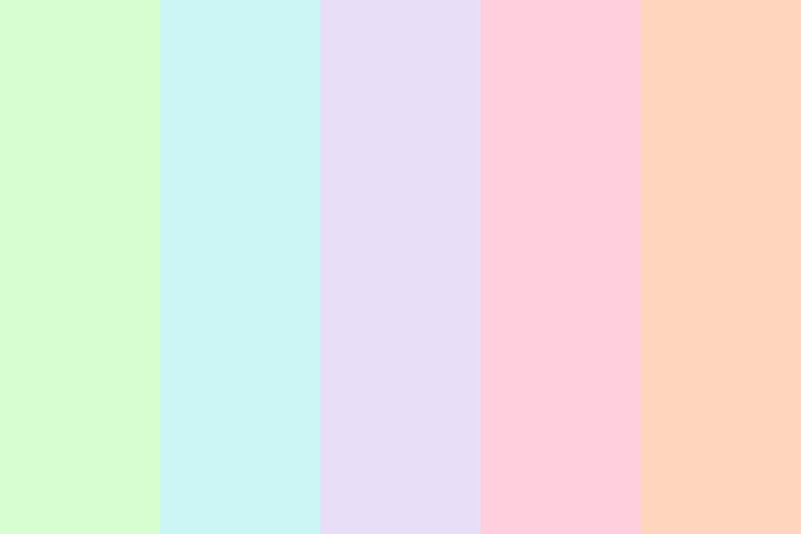 Pastel Try Guys Color Palette