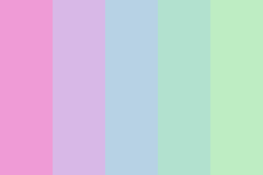 Pastel Wanderings Color Palette