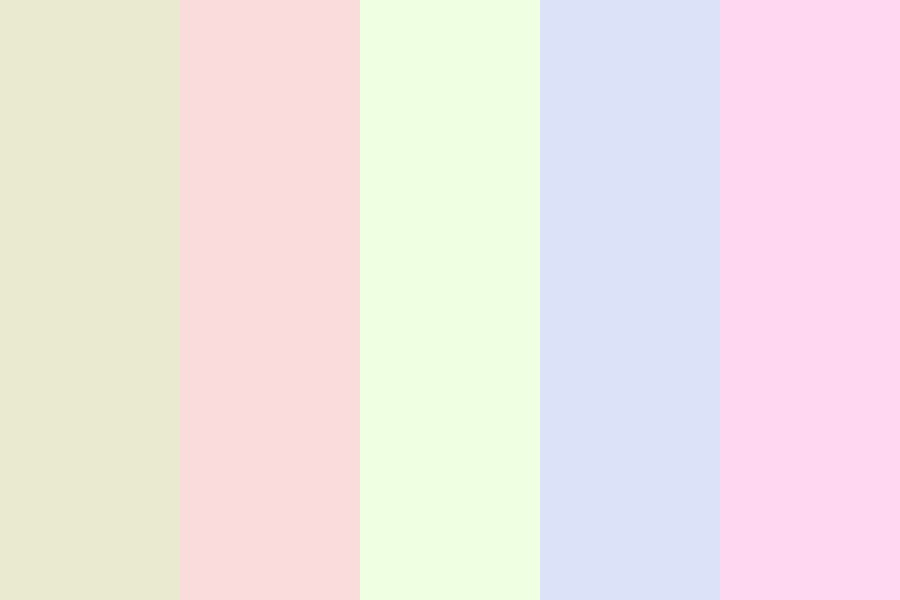 Pastel X Color Palette