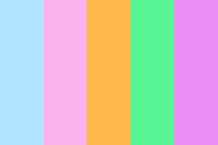 Pastel Youth Color Palette