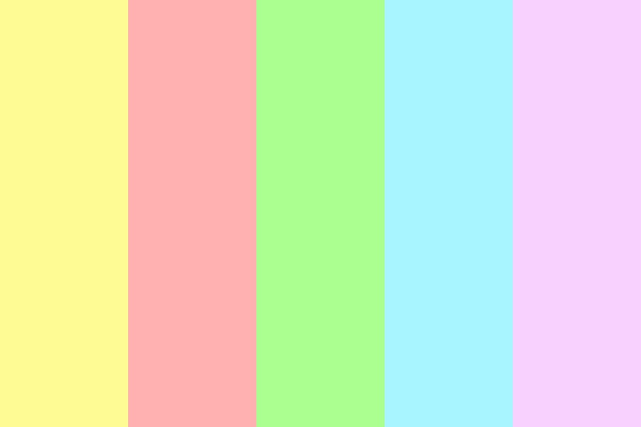 Pastel things Color Palette