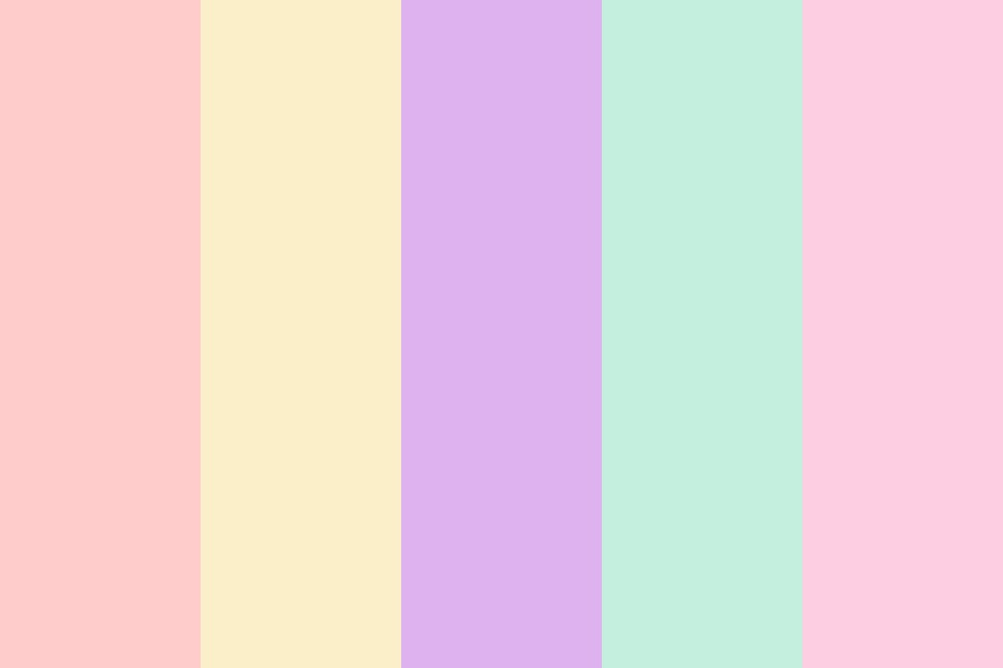 Pastelek Color Palette