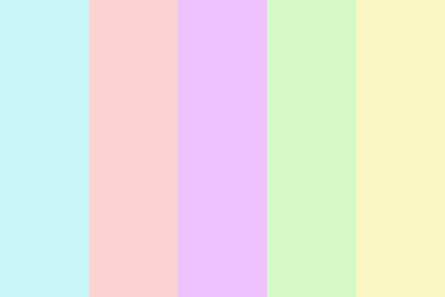 Pastell Colors Color Palette