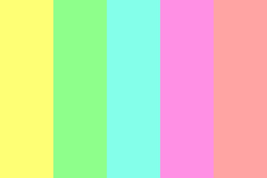 Pastell Is A Color Color Palette