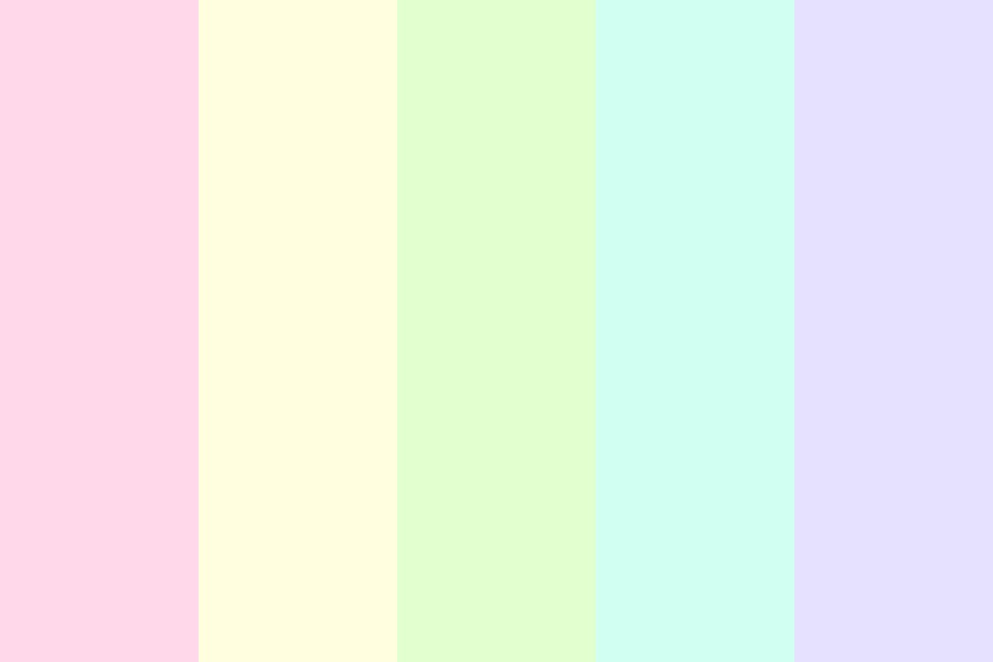 Pastellllll Color Palette