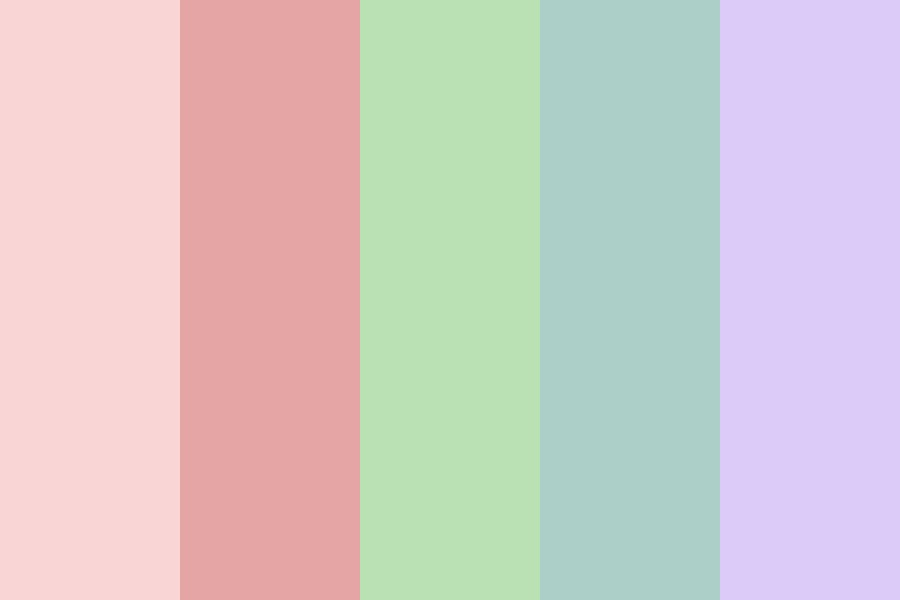Pastels All The Way Color Palette
