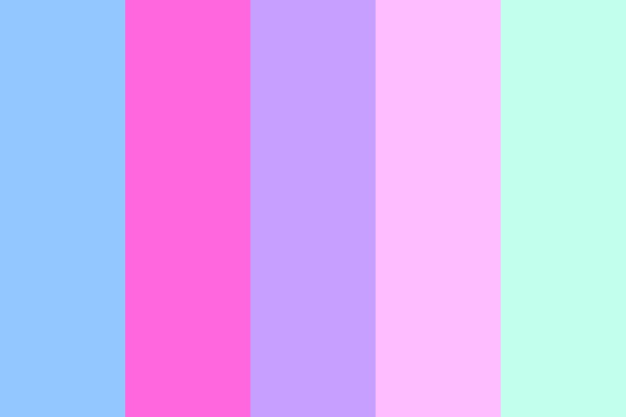 Pastels And Pink Color Palette