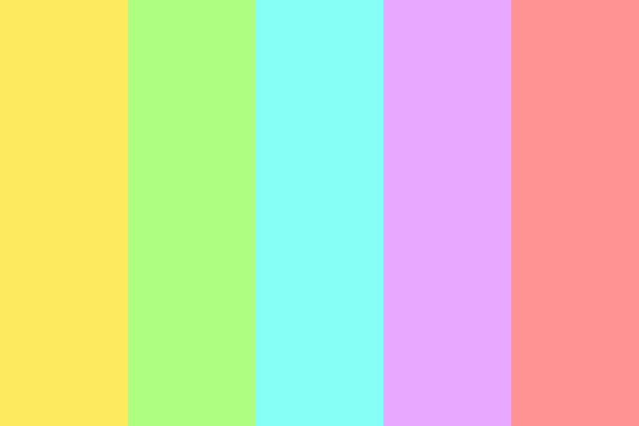 Pastels Are Pastey Color Palette