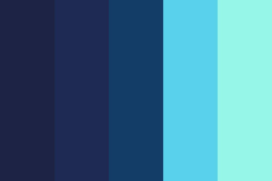 Pastels But Instead Of Pastels Theyre Ocean Colors Color Palette