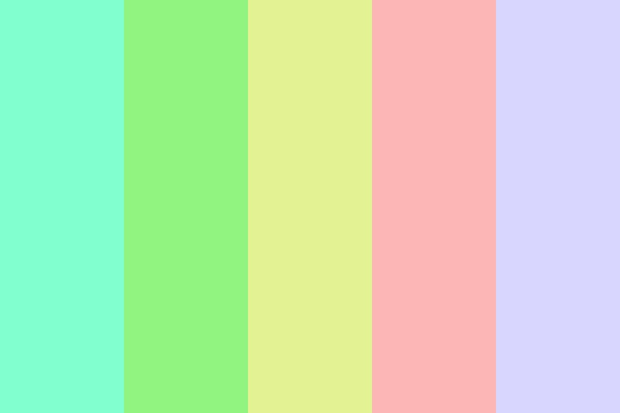 Pastels For Pastries Color Palette