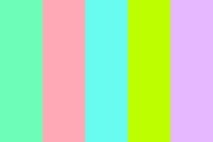 Pastels My Dude Color Palette