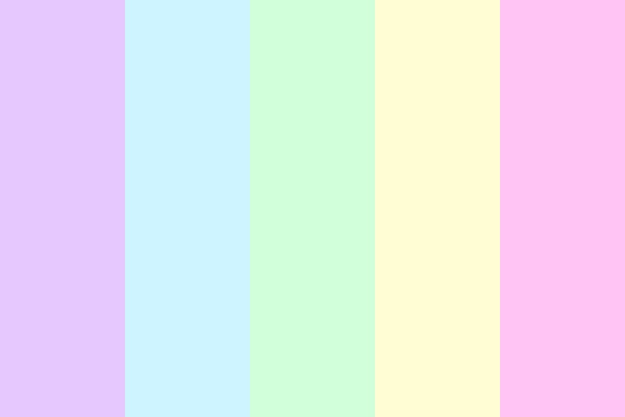 Pastelz Color Palette