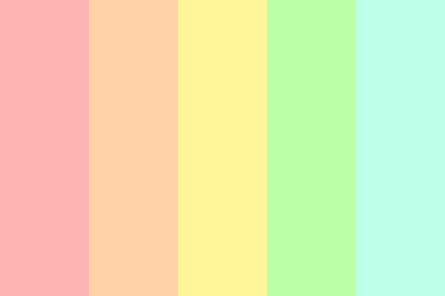 Pastelzzzz Color Palette