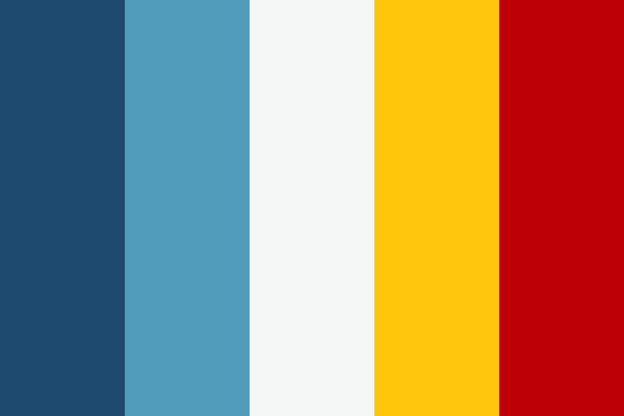 Patriotic Gold Color Palette