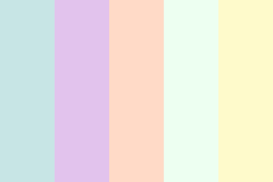 Peach And Cheese Color Palette