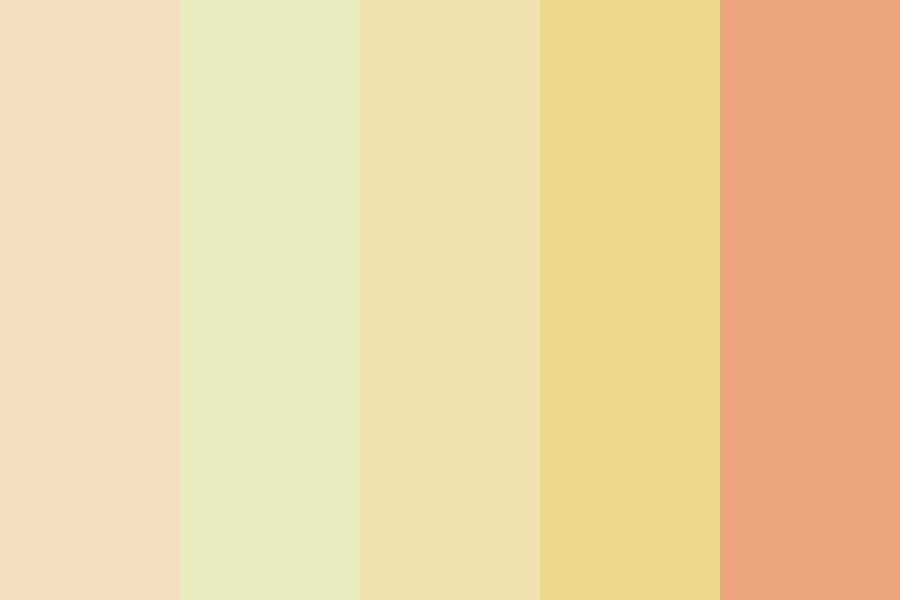 Peach Pillars Color Palette
