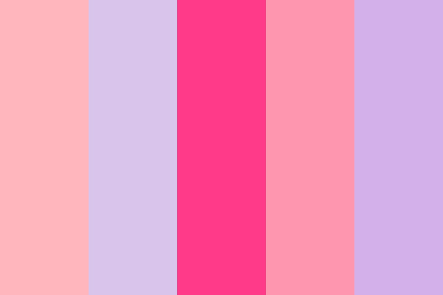 Peach Shaved Ice Color Palette