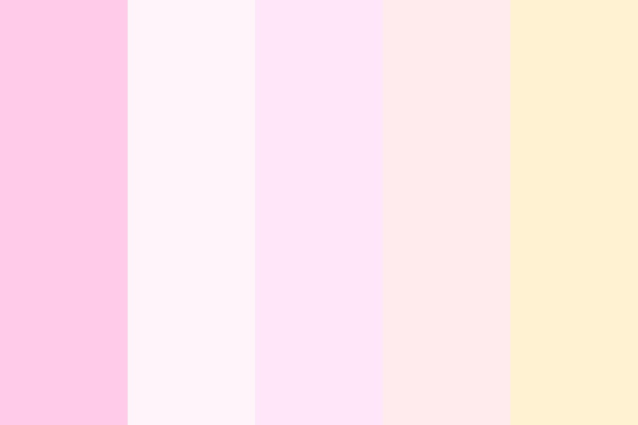 Peaches And Cream Color Palette