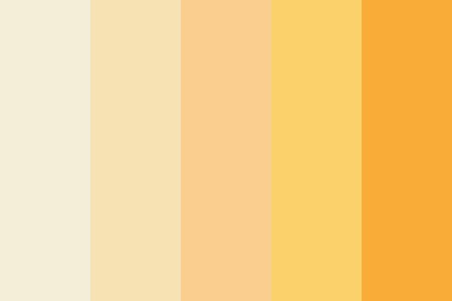 Peaches And Creme Color Palette