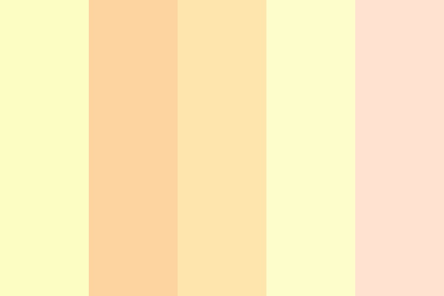 Peaches And Dreams Color Palette
