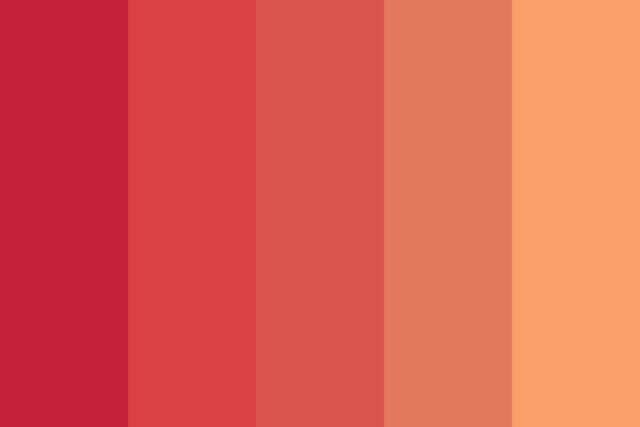 Peaches Smell So Good Color Palette