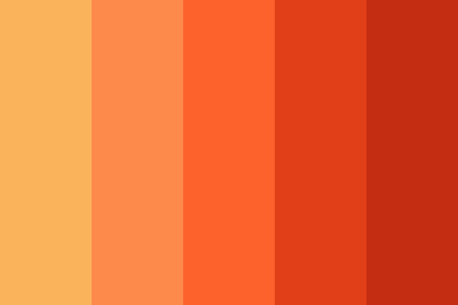 Peachhy Color Palette
