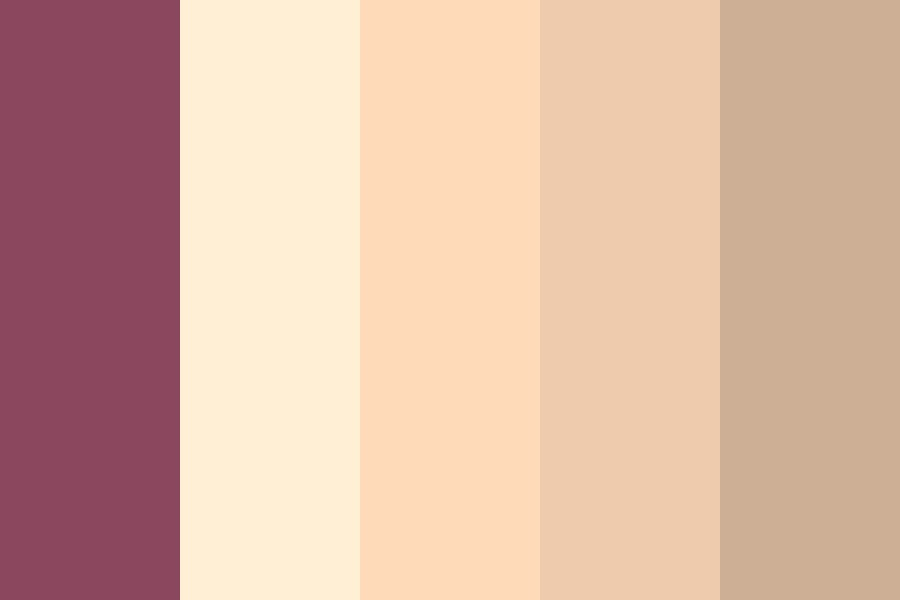 Peachpuff Color Palette