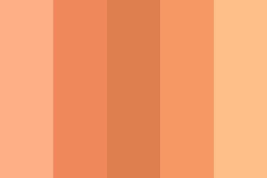 Peachu Color Palette