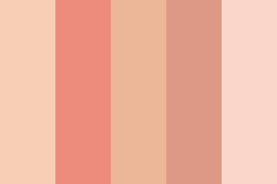 Peachy! Color Palette