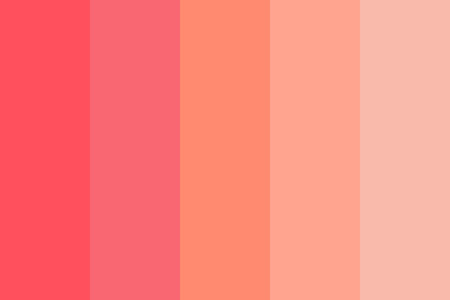 Peachy Aesthetic Color Palette