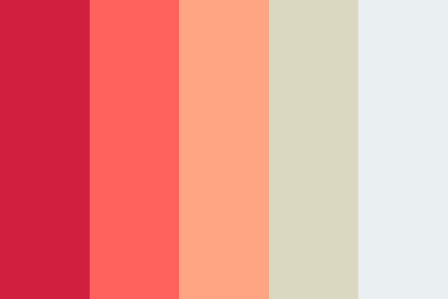 Peachy Pink Color Palette