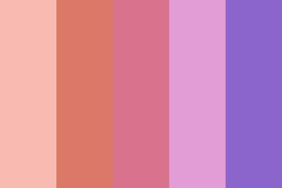 Peachy Pinks Color Palette