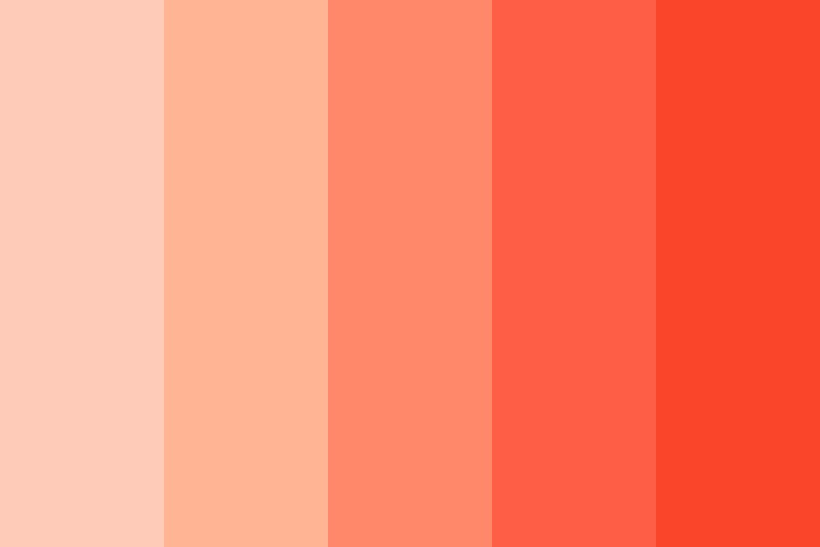 Peachy Soda Color Palette
