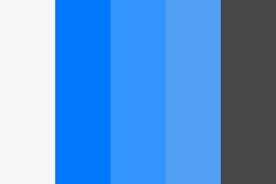 Pelosi Media Black And Blue Color Palette