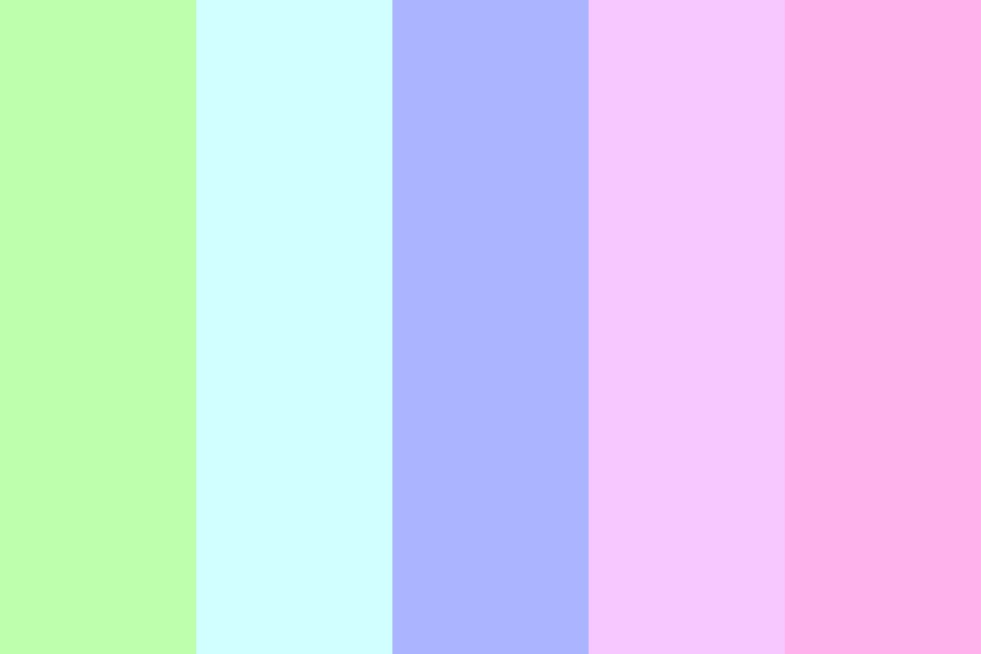 Perfect And Pastel Color Palette